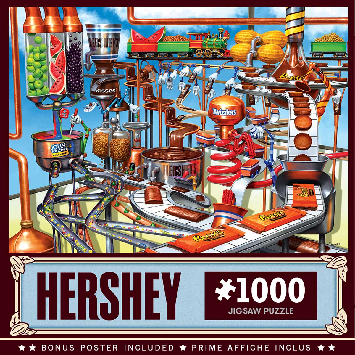 Chocolate Factory Sweets Jigsaw Puzzle