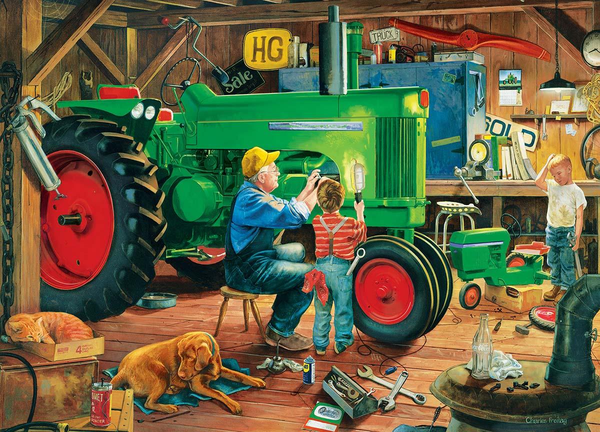 The Restoration Farm Jigsaw Puzzle