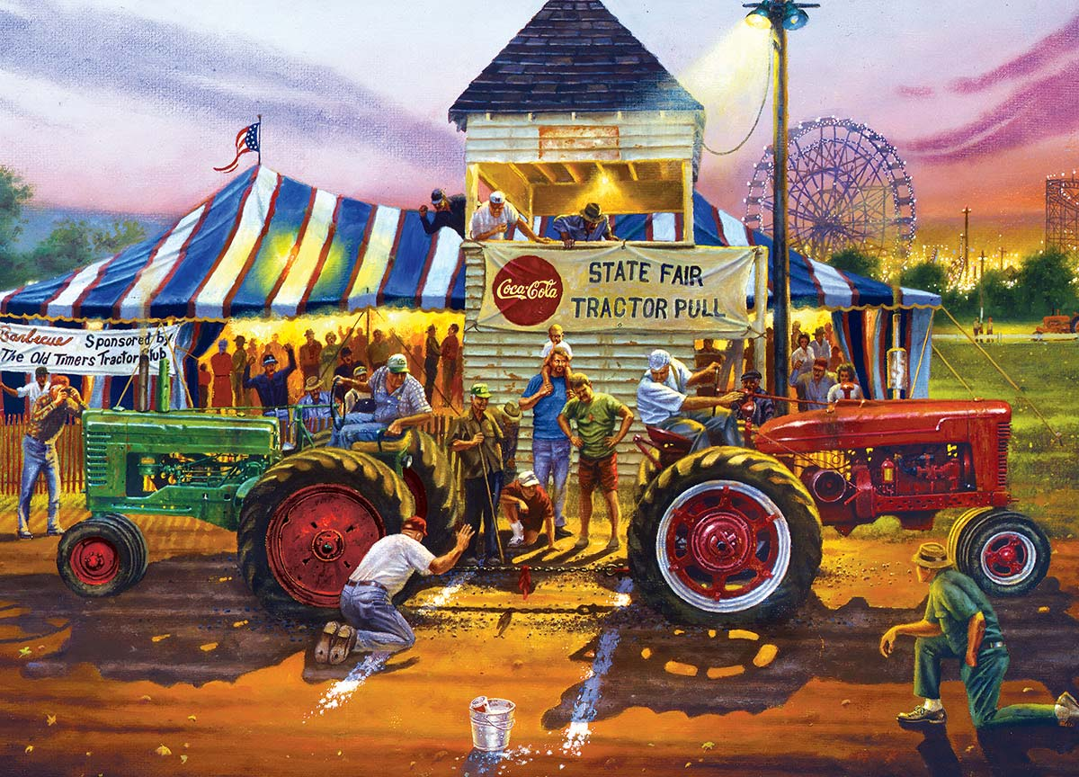 For Top Honors Farm Jigsaw Puzzle