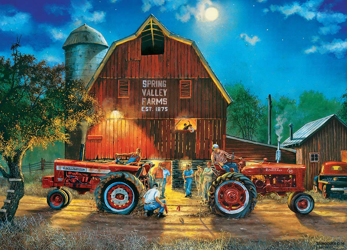 The Rematch - Scratch and Dent Farm Jigsaw Puzzle