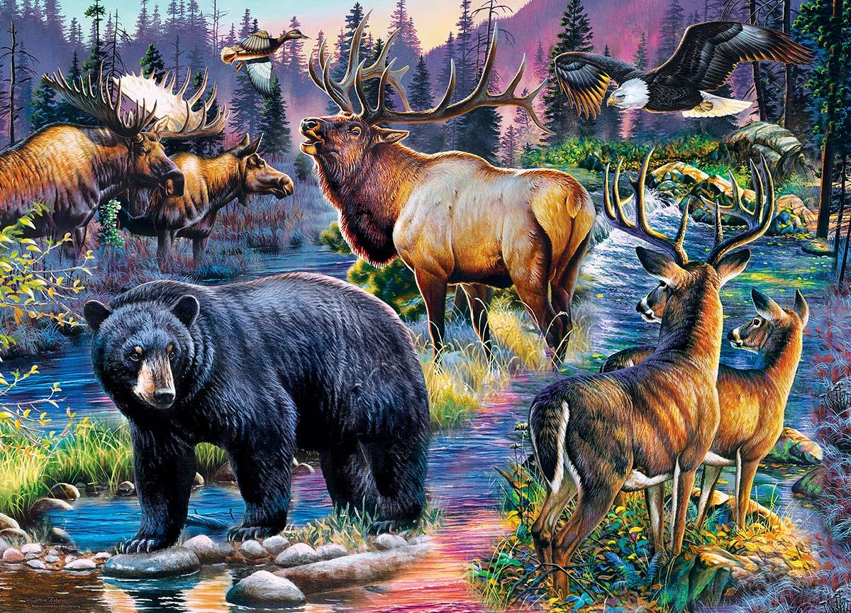 Wild Living Animals Jigsaw Puzzle