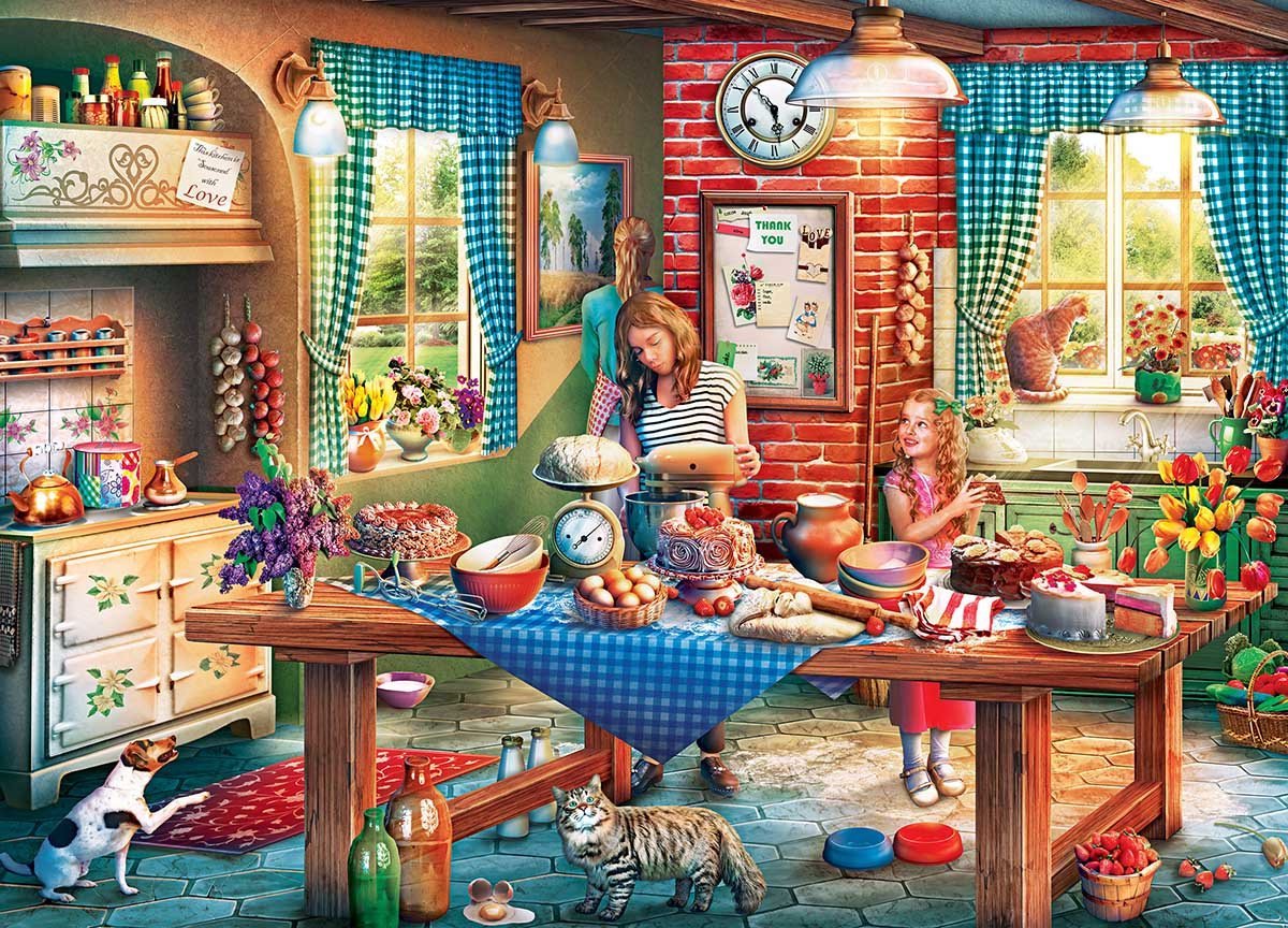 Baking Bread Food and Drink Jigsaw Puzzle