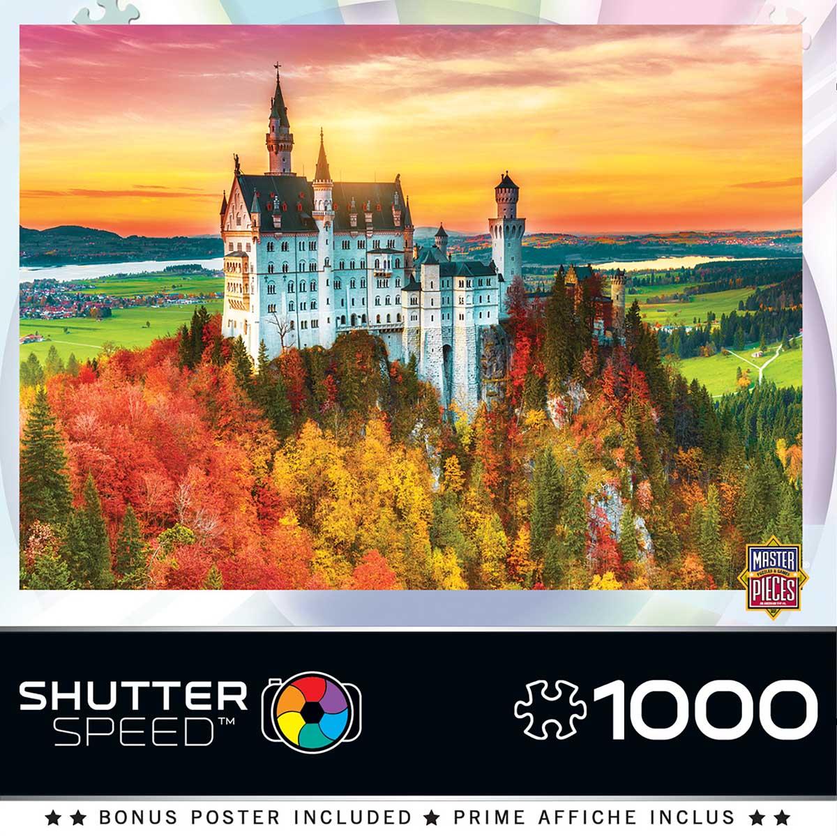 Autumn Castle Castles Jigsaw Puzzle
