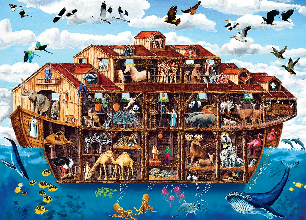 Noah's Ark - Scratch and Dent Religious Jigsaw Puzzle