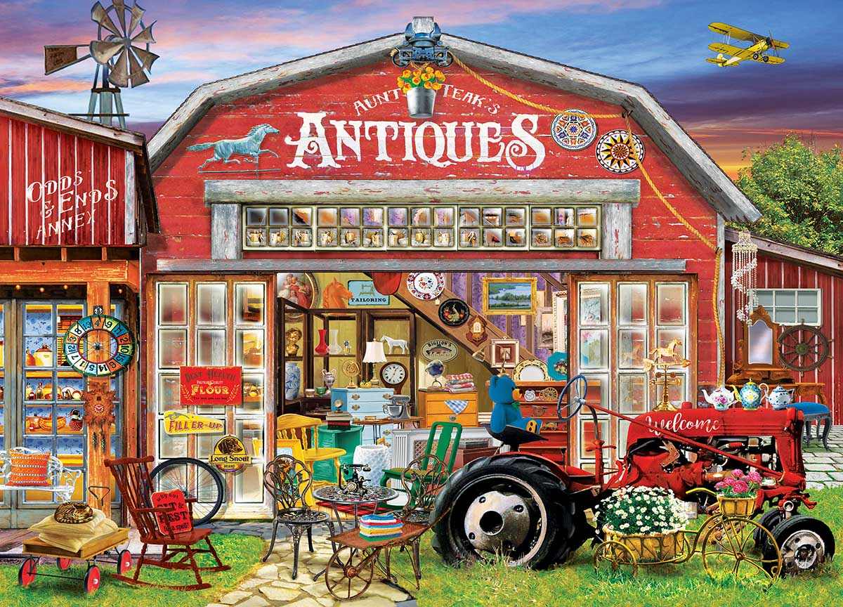 Antiques for Sale Farm Hidden Images
