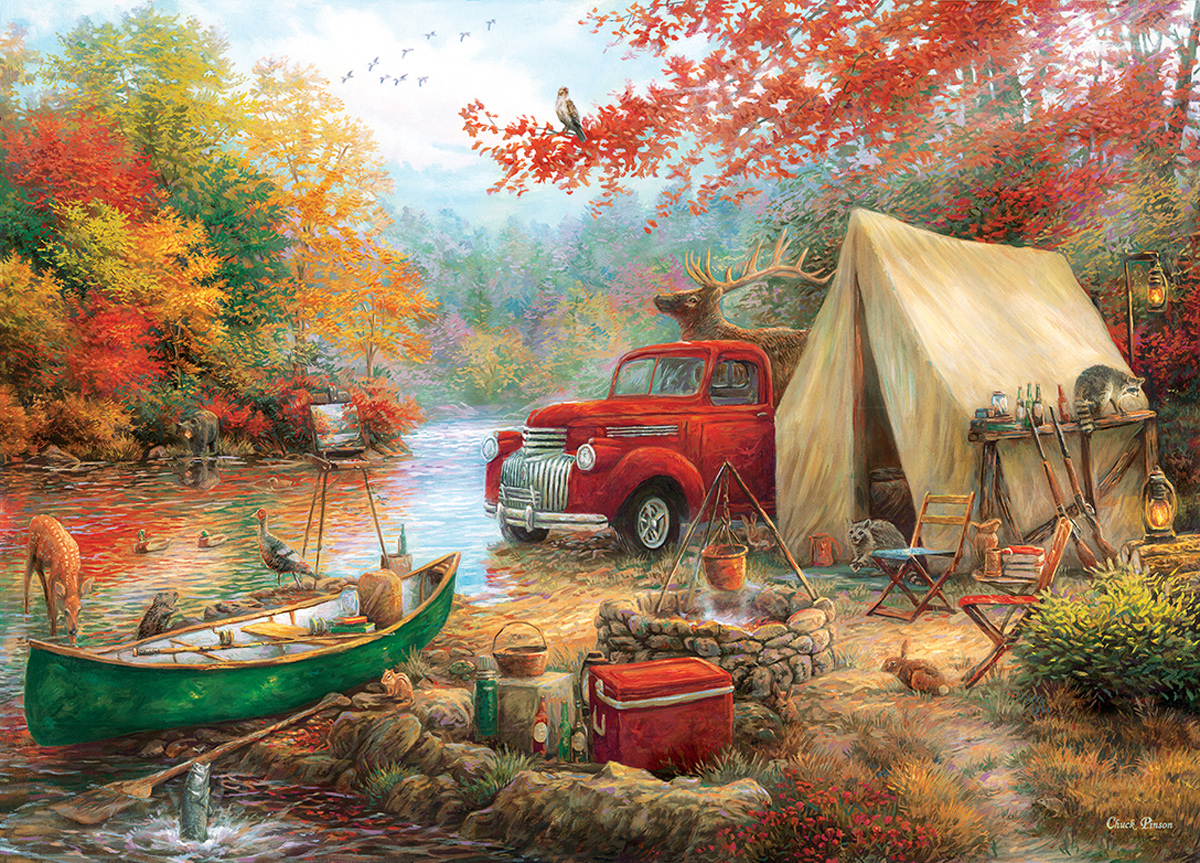 Share the Outdoors Fall Jigsaw Puzzle