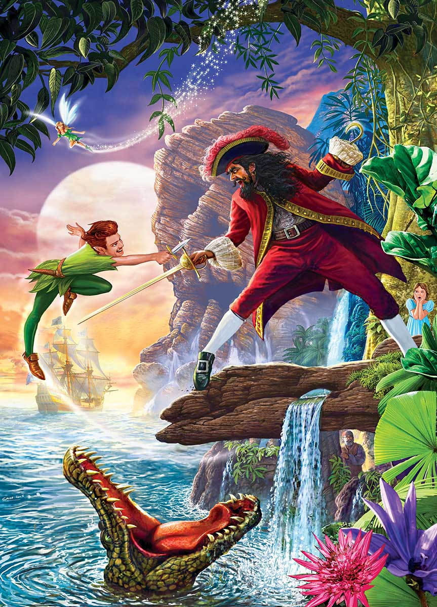 Peter Pan Movies / Books / TV Jigsaw Puzzle