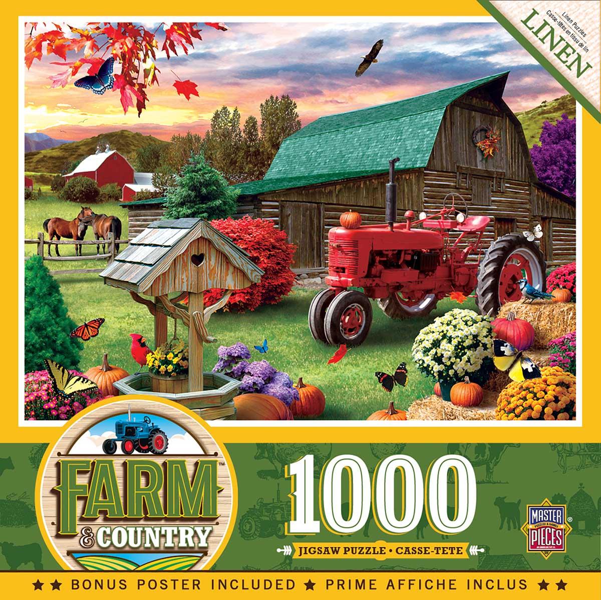 Harvest Ranch Farm Jigsaw Puzzle