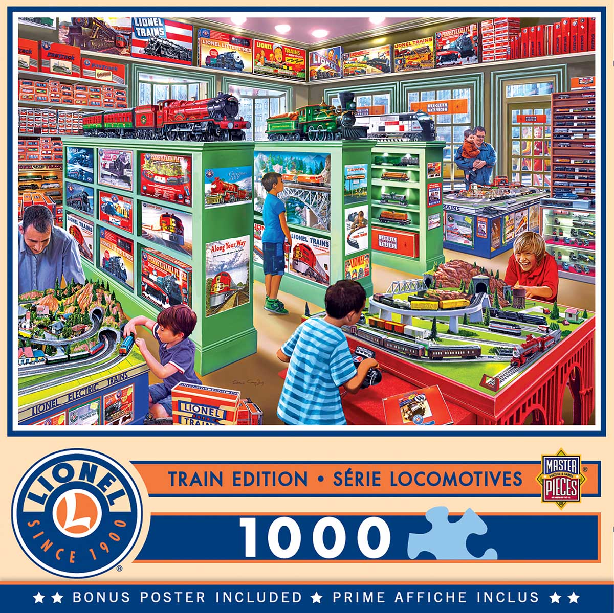 The Lionel Store Trains Jigsaw Puzzle