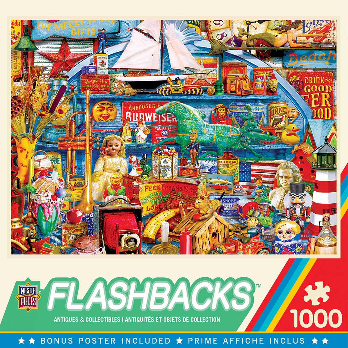 Antiques & Collectibles - Scratch and Dent Nostalgic / Retro Jigsaw Puzzle