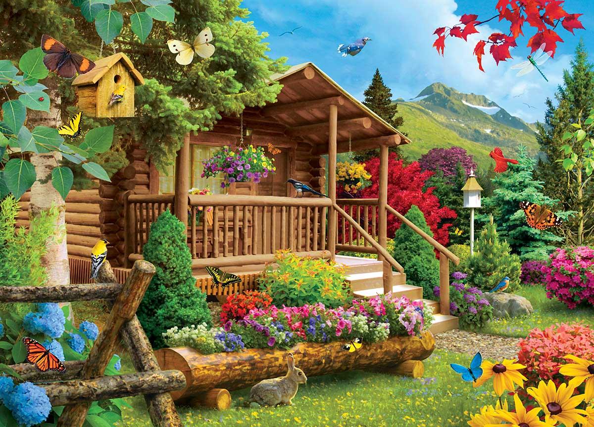 Summerscape Animals Jigsaw Puzzle