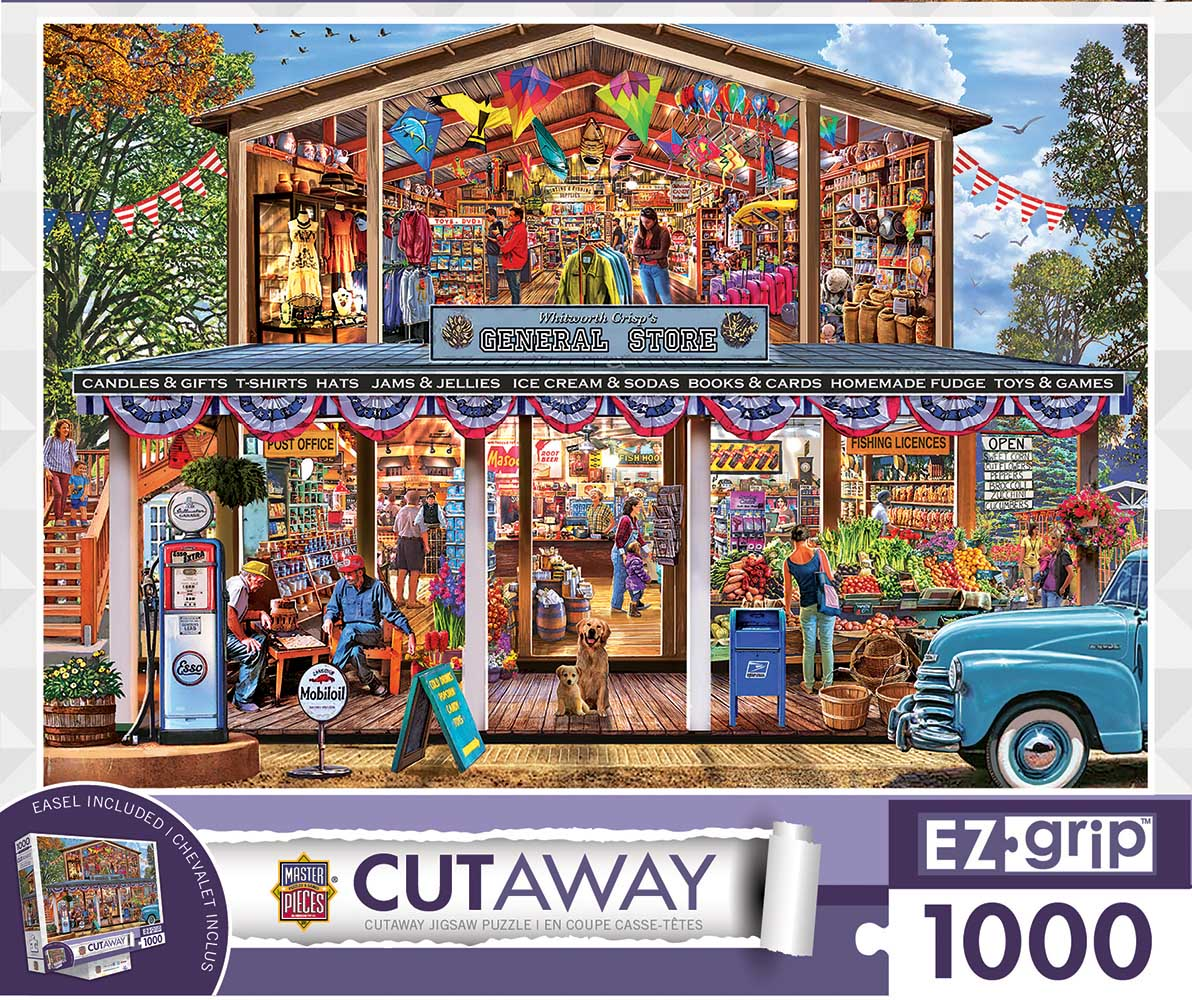 Hometown Market General Store Jigsaw Puzzle