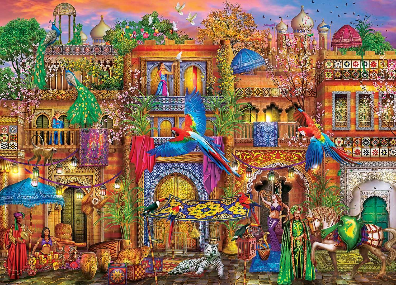 Arabian Nights Travel Hidden Images