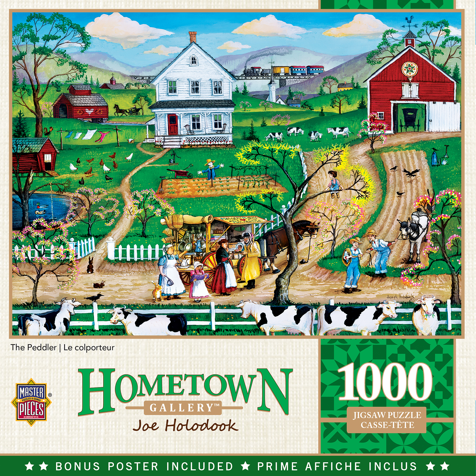The Peddler Countryside Jigsaw Puzzle