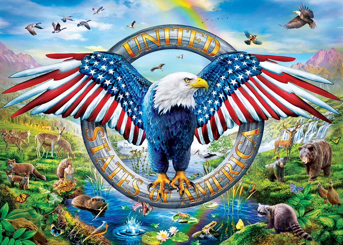 Liberty Falls Patriotic Jigsaw Puzzle