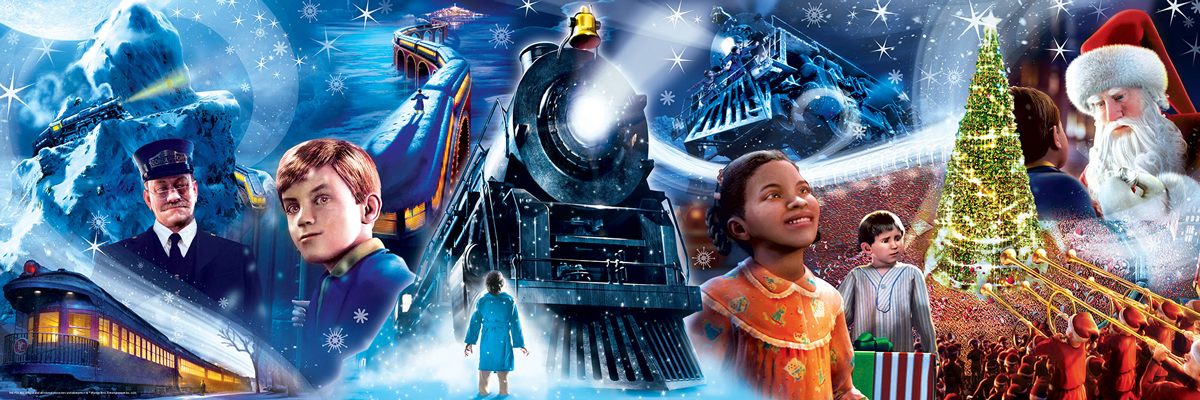The Polar Express Panoramic Puzzle Movies / Books / TV Jigsaw Puzzle