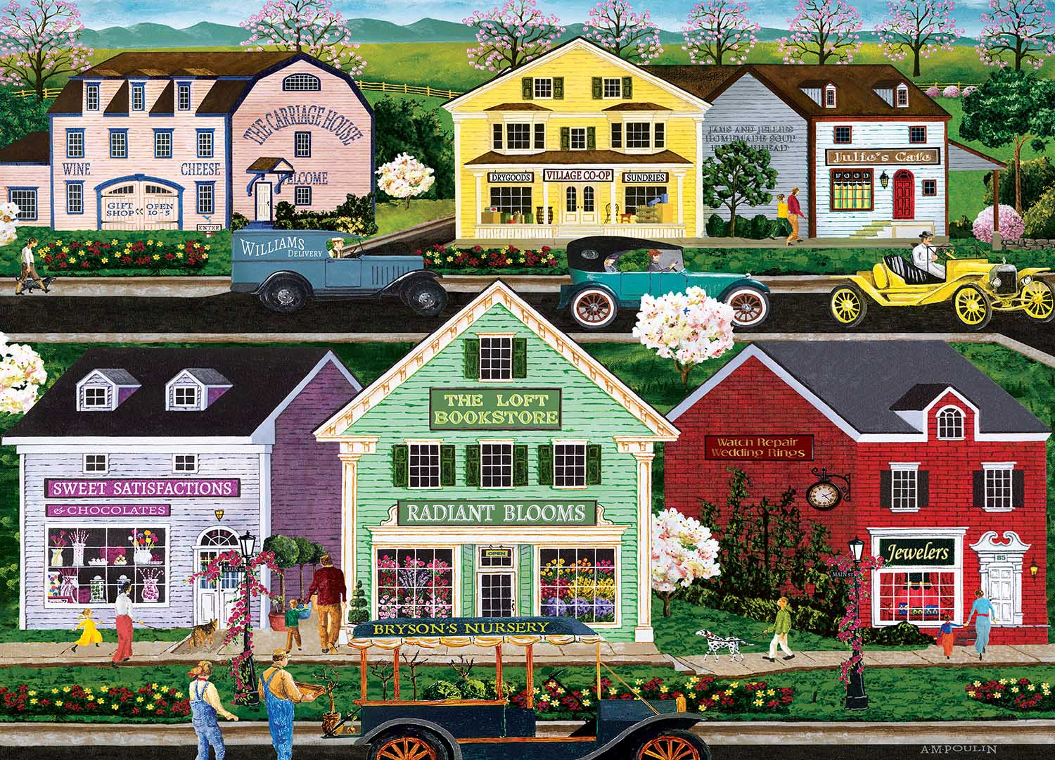 Day Trip Countryside Jigsaw Puzzle