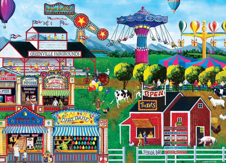 All's Fair Countryside Jigsaw Puzzle