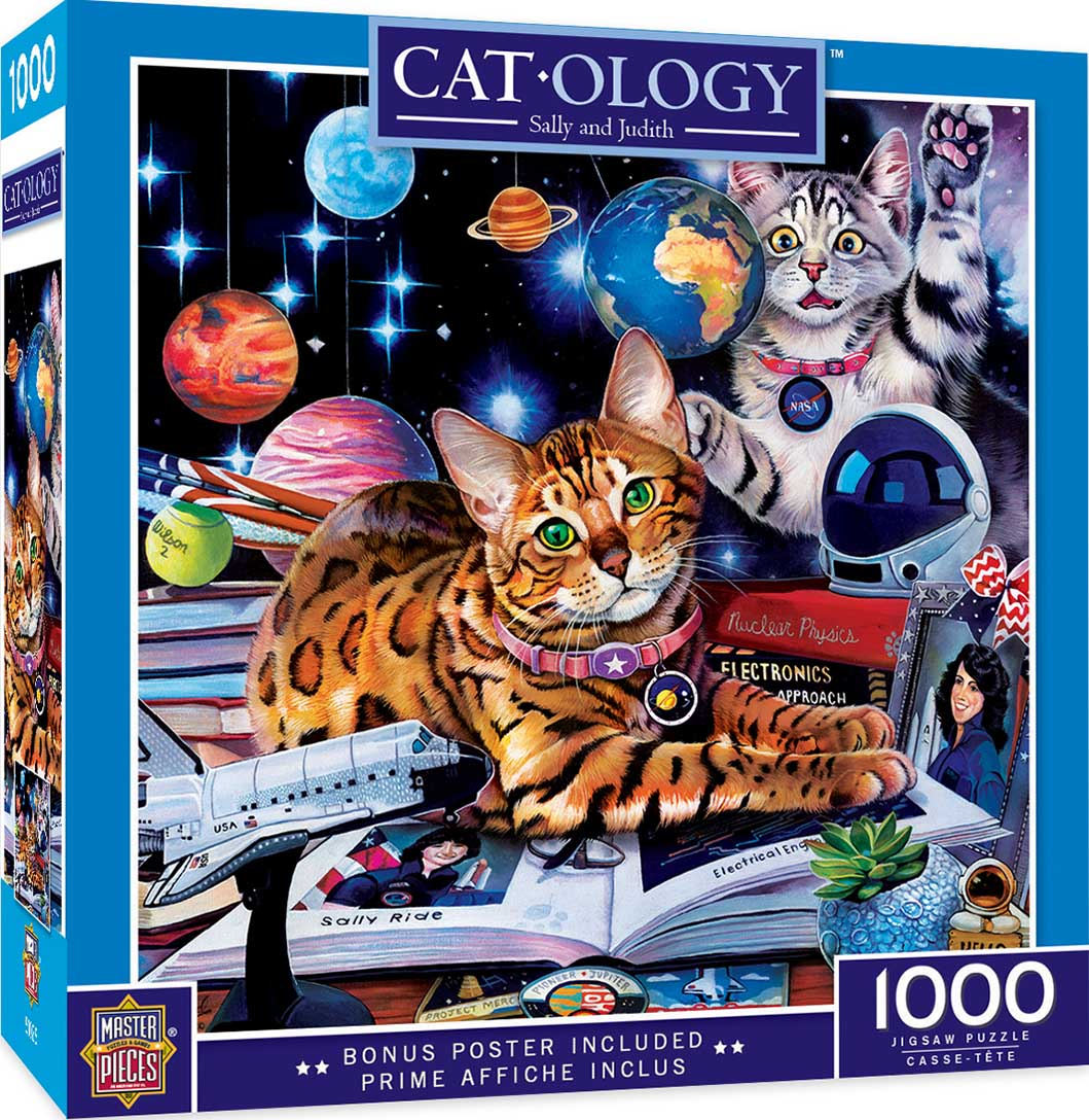 Sally and Judith Space Jigsaw Puzzle