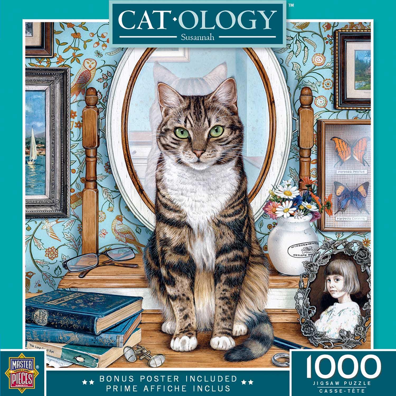 Savannah Cats Jigsaw Puzzle