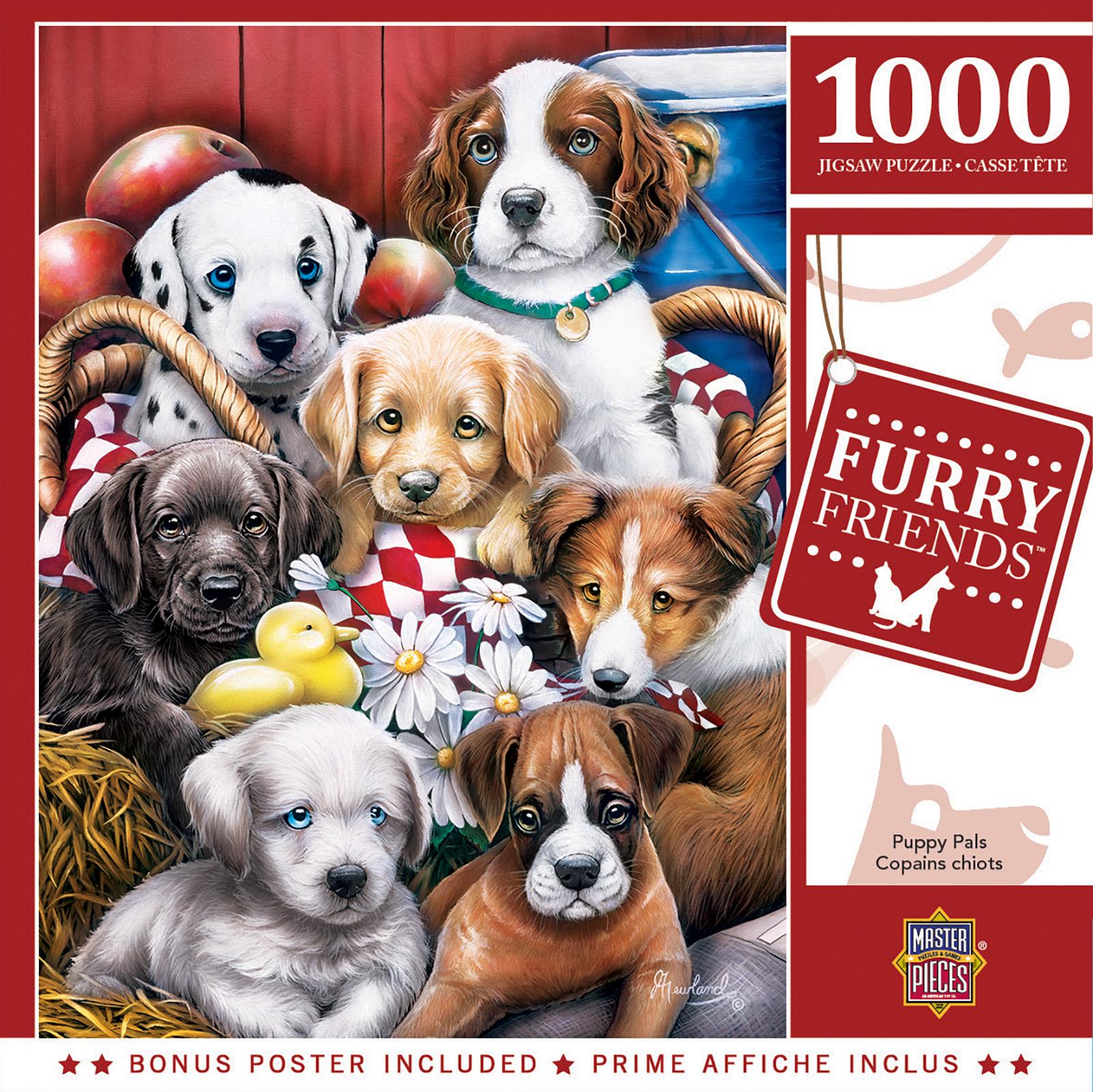 Puppy Pals Animals Jigsaw Puzzle