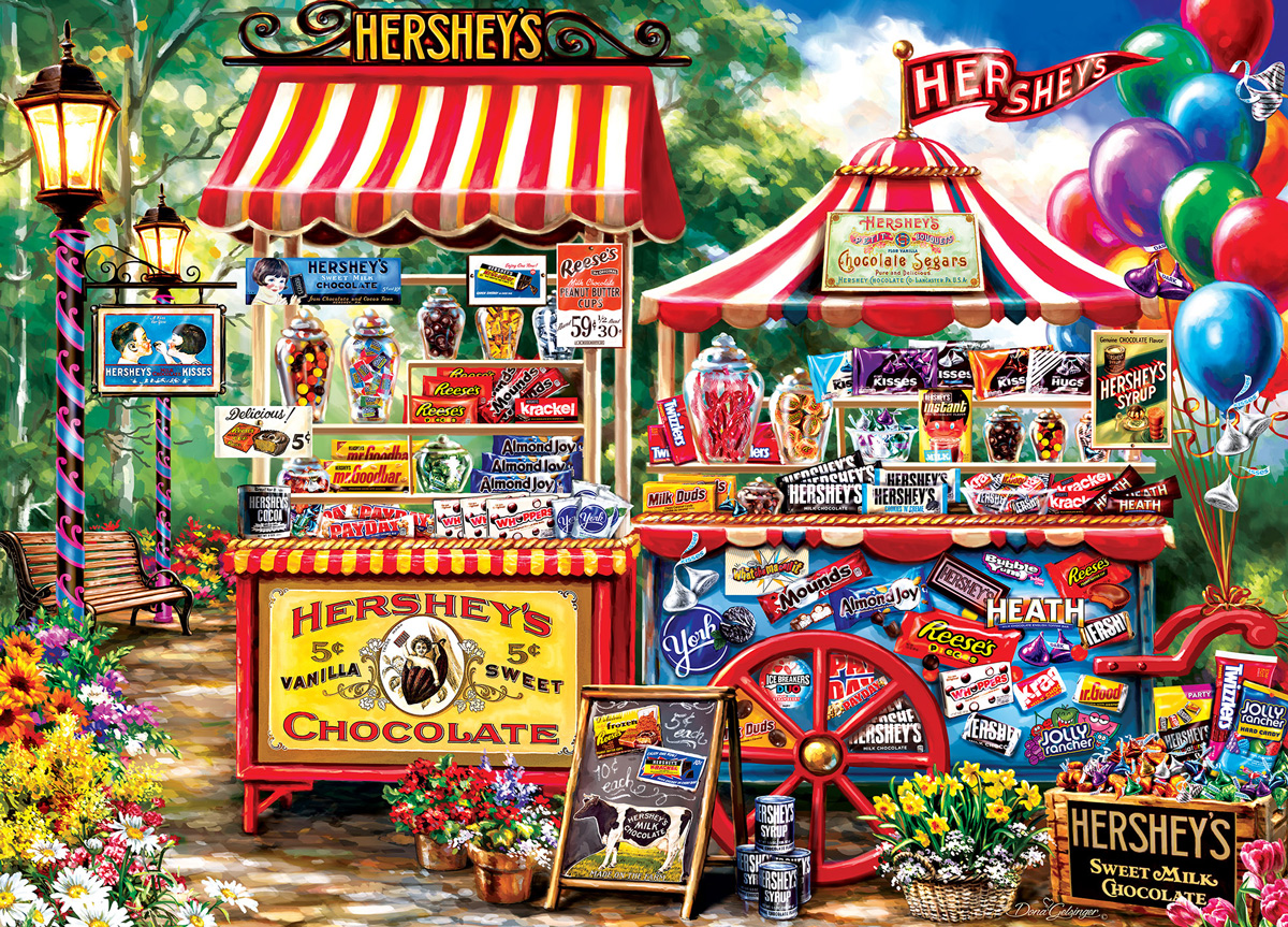 Hershey's Stand Food and Drink Jigsaw Puzzle