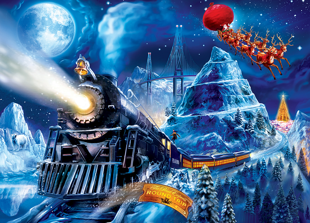 Polar Express Race to the Pole Movies / Books / TV Jigsaw Puzzle