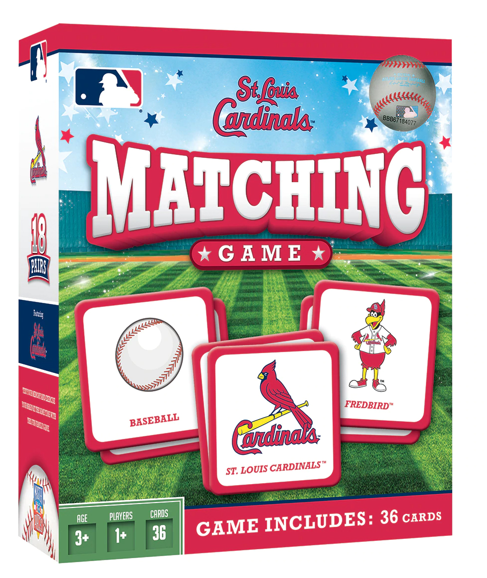 St. Louis Cardinals Matching Game St. Louis Cardinals