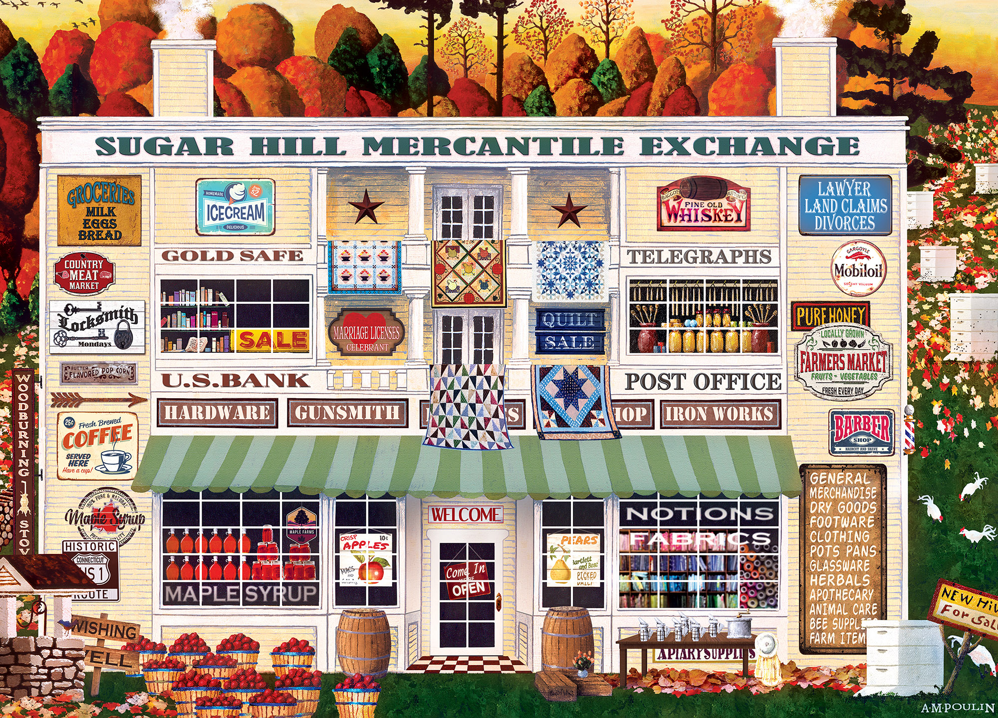 Sugar Hill Mercantile Food and Drink Jigsaw Puzzle