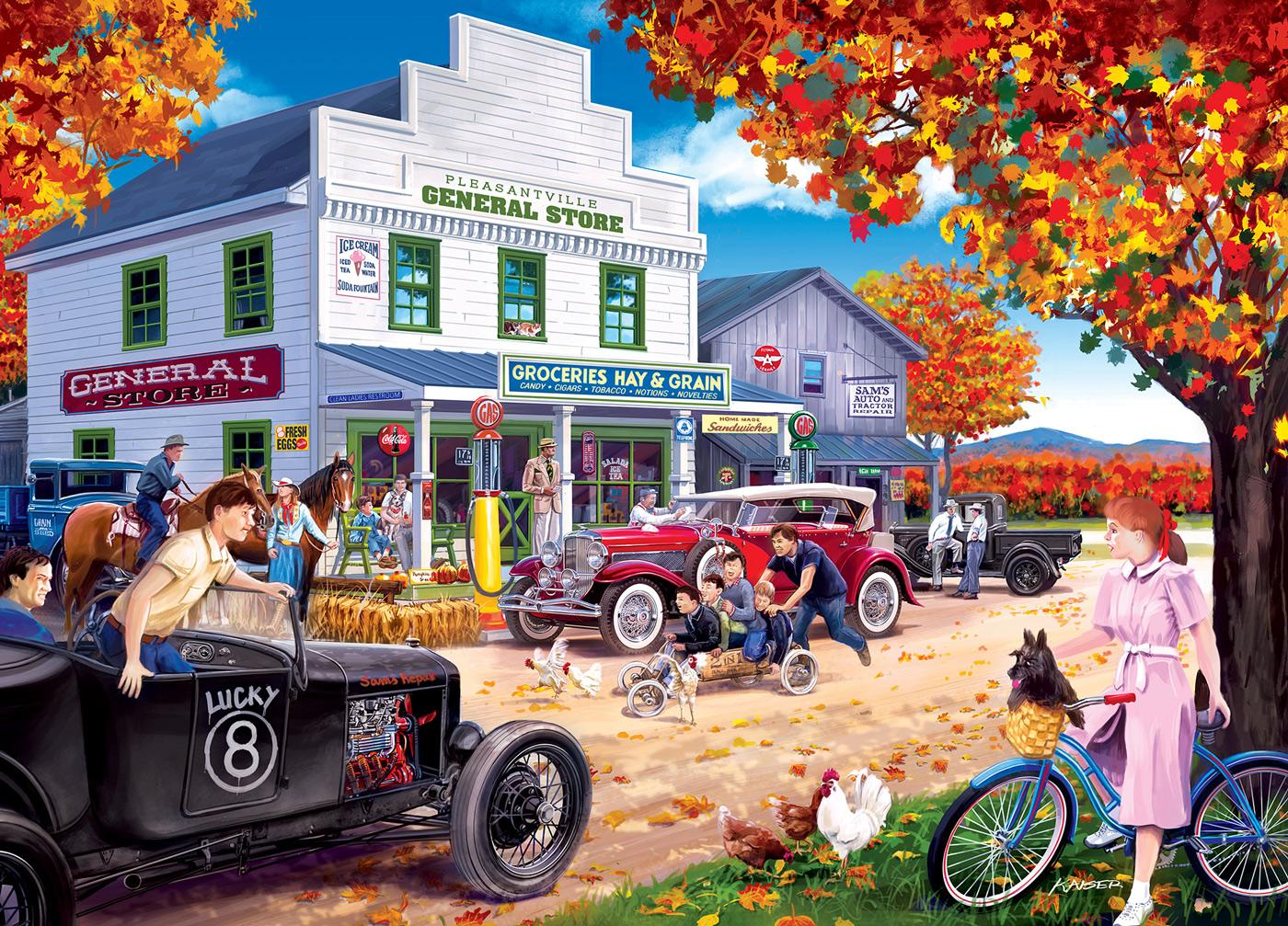 Pleasantville Nostalgic / Retro Jigsaw Puzzle