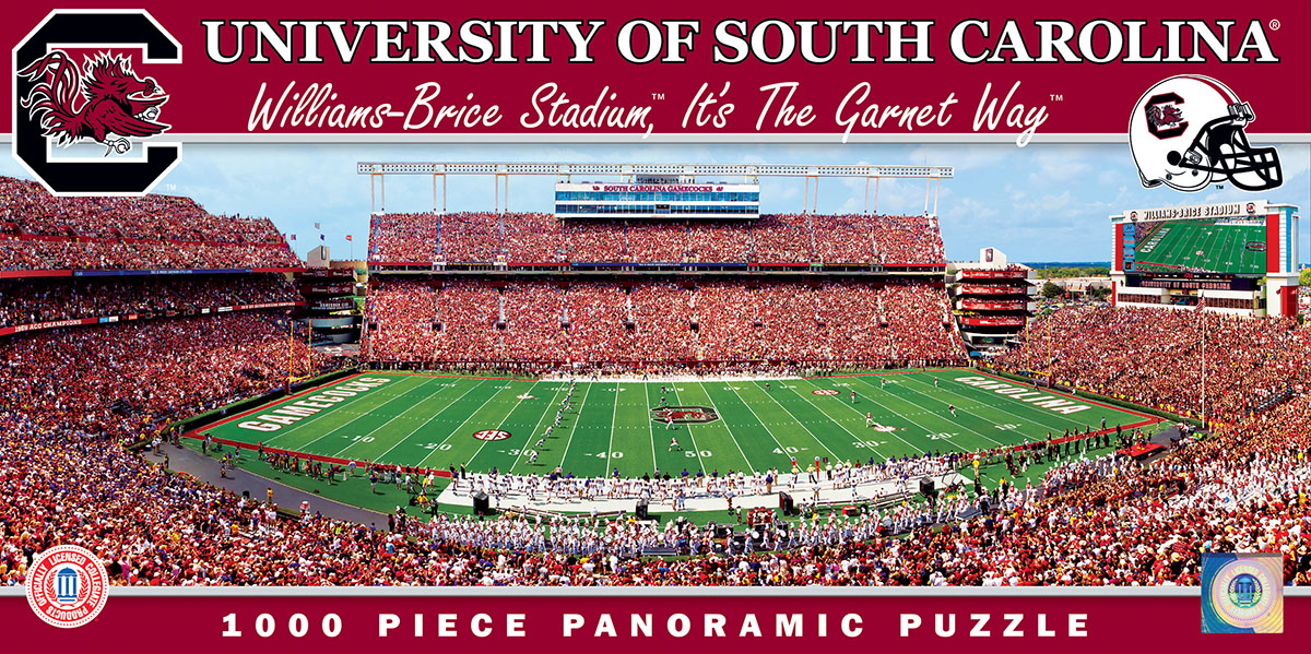 University of South Carolina Sports Jigsaw Puzzle