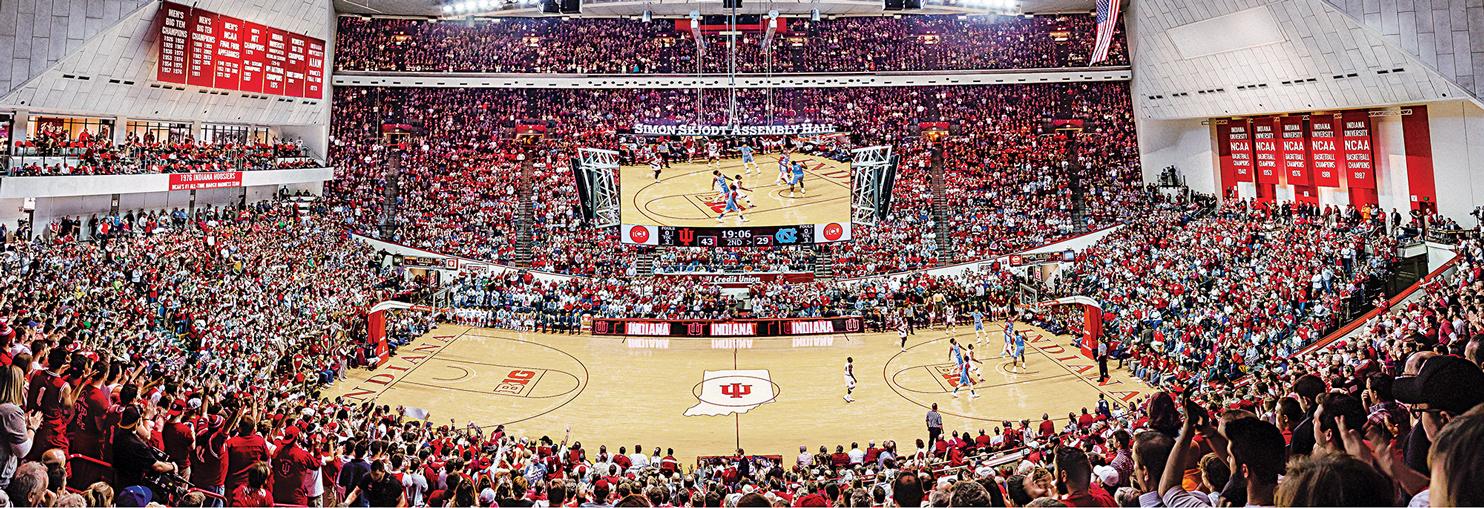 Indiana University Sports Jigsaw Puzzle