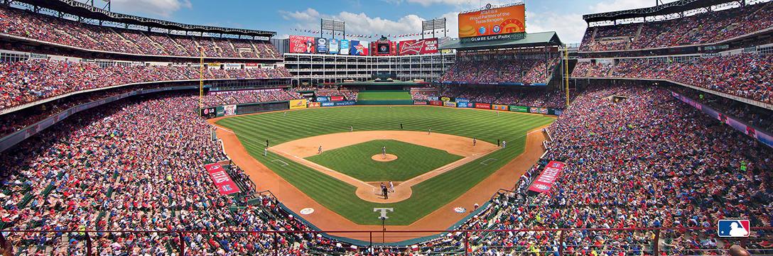 Texas Rangers Sports Jigsaw Puzzle