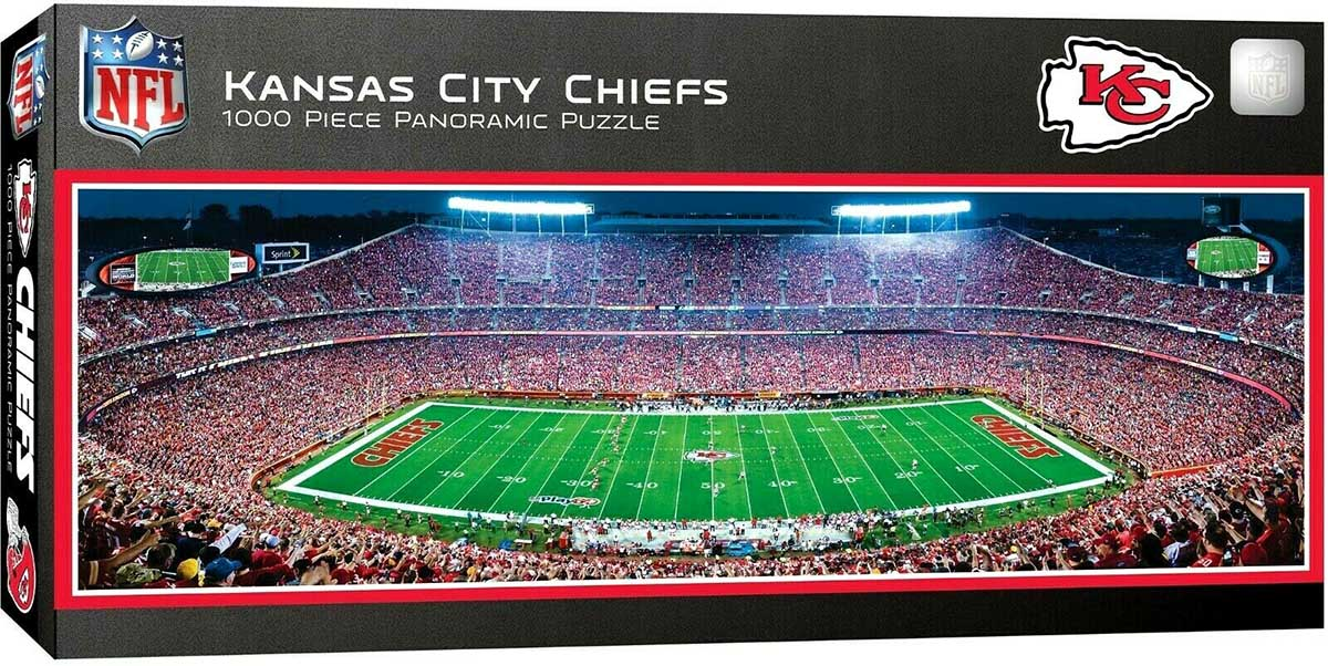 Kansas City Chiefs Sports Jigsaw Puzzle