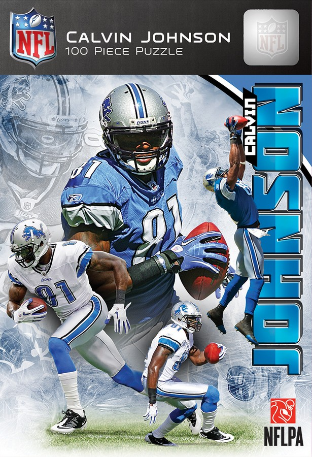 Calvin Johnson Famous People Jigsaw Puzzle
