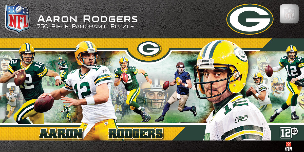 Aaron Rodgers Sports Jigsaw Puzzle