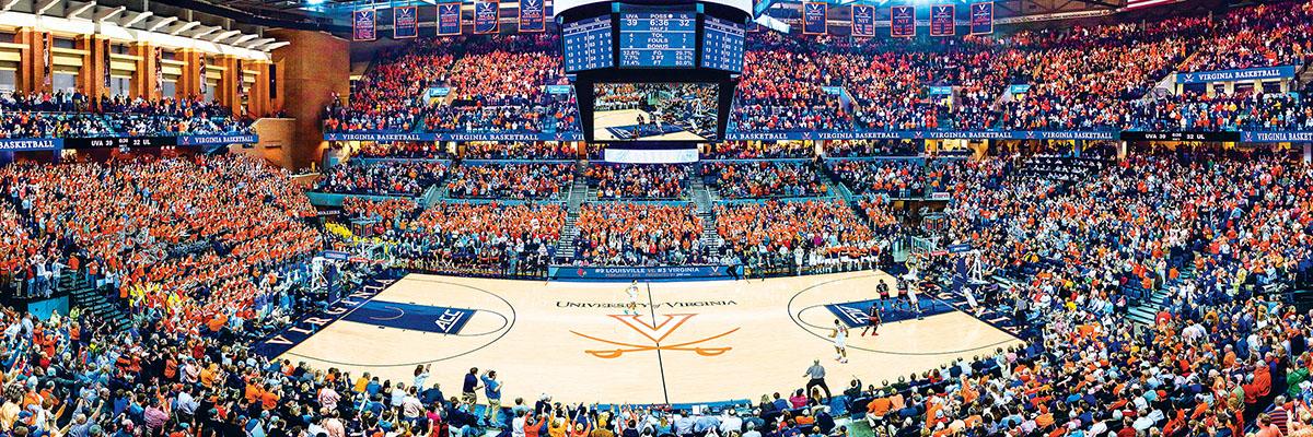 University of Virginia Basketball Sports Jigsaw Puzzle