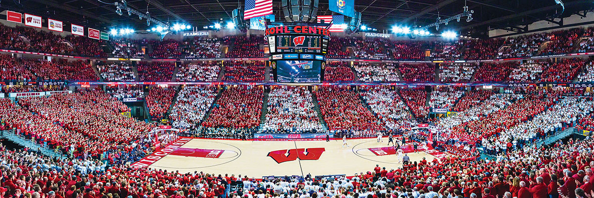 Univeristy of Wisconsin Basketball - Scratch and Dent Sports Jigsaw Puzzle