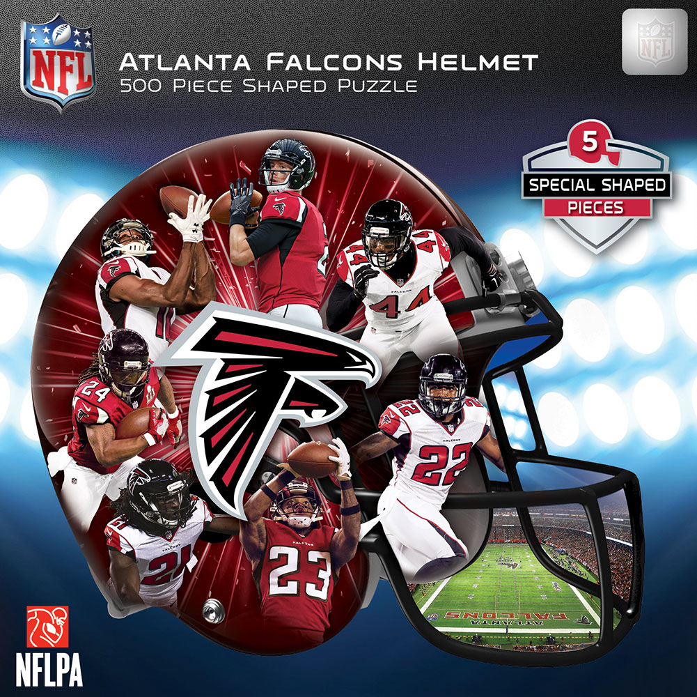 Atlanta Falcons Helmet Shaped Puzzle Sports Shaped Puzzle
