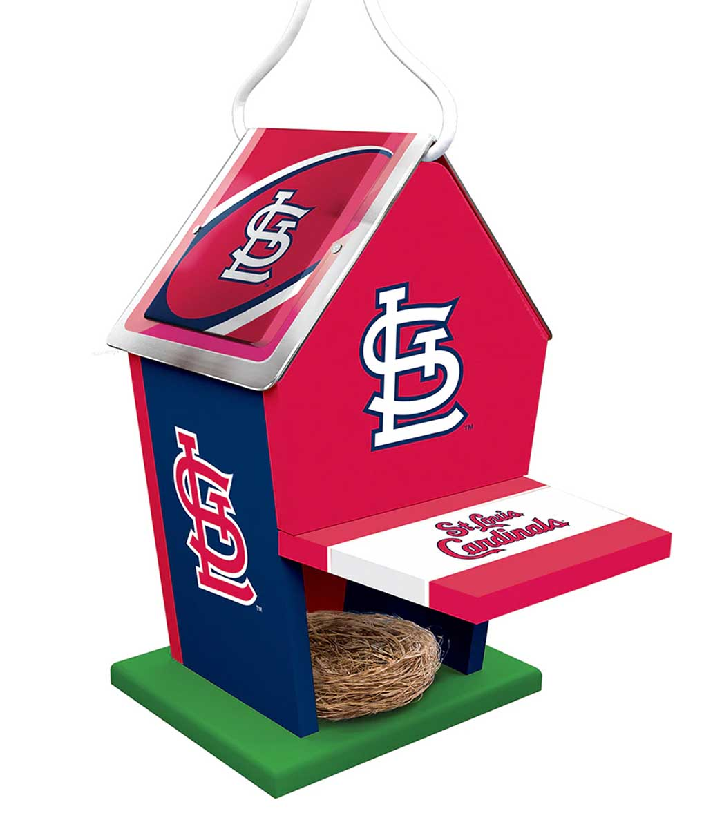 St Louis Cardinals Birdhouse Father's Day