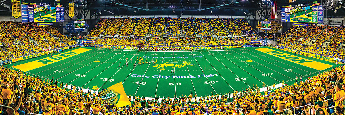 North Dakota State Sports Jigsaw Puzzle