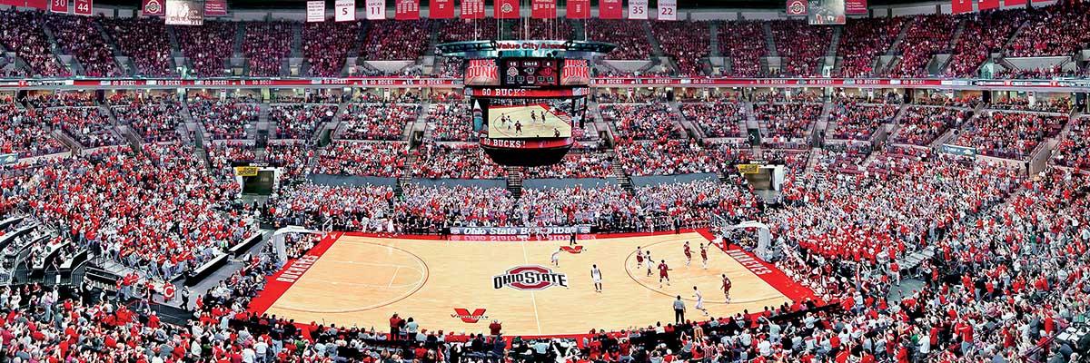 Ohio State Basketball Sports Jigsaw Puzzle