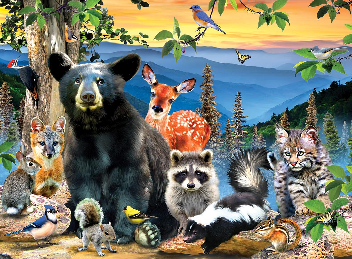 Great Smoky Mountains National Park Animals Jigsaw Puzzle