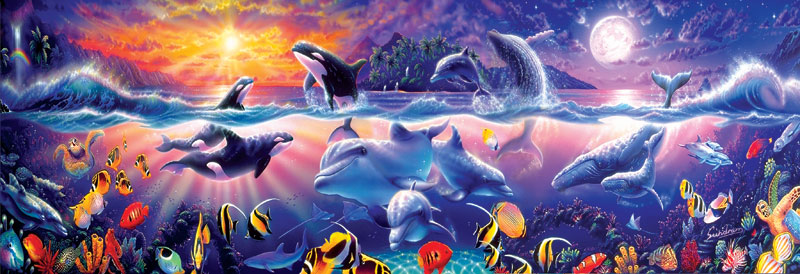 Tropical Treasures Marine Life Jigsaw Puzzle