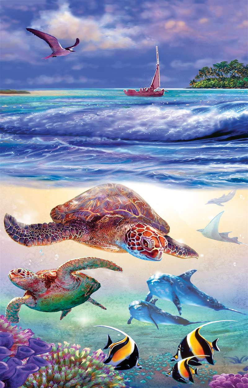 On the Ocean Marine Life Jigsaw Puzzle