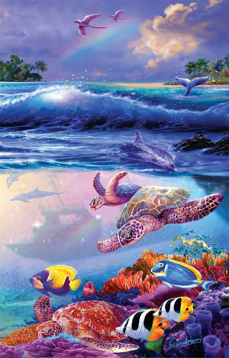 The Divers Marine Life Jigsaw Puzzle