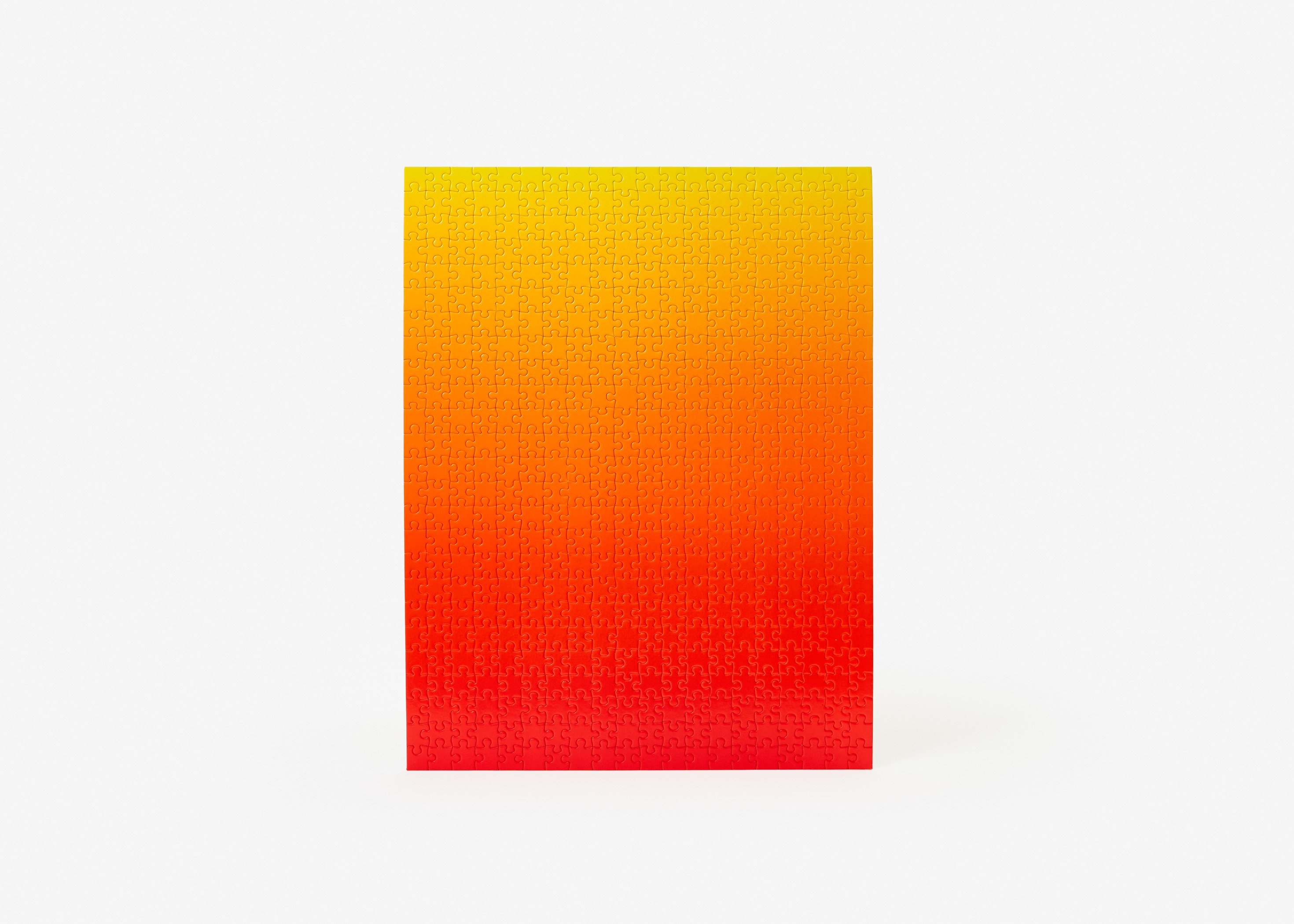 Gradient Puzzle (red/yellow) Abstract Jigsaw Puzzle
