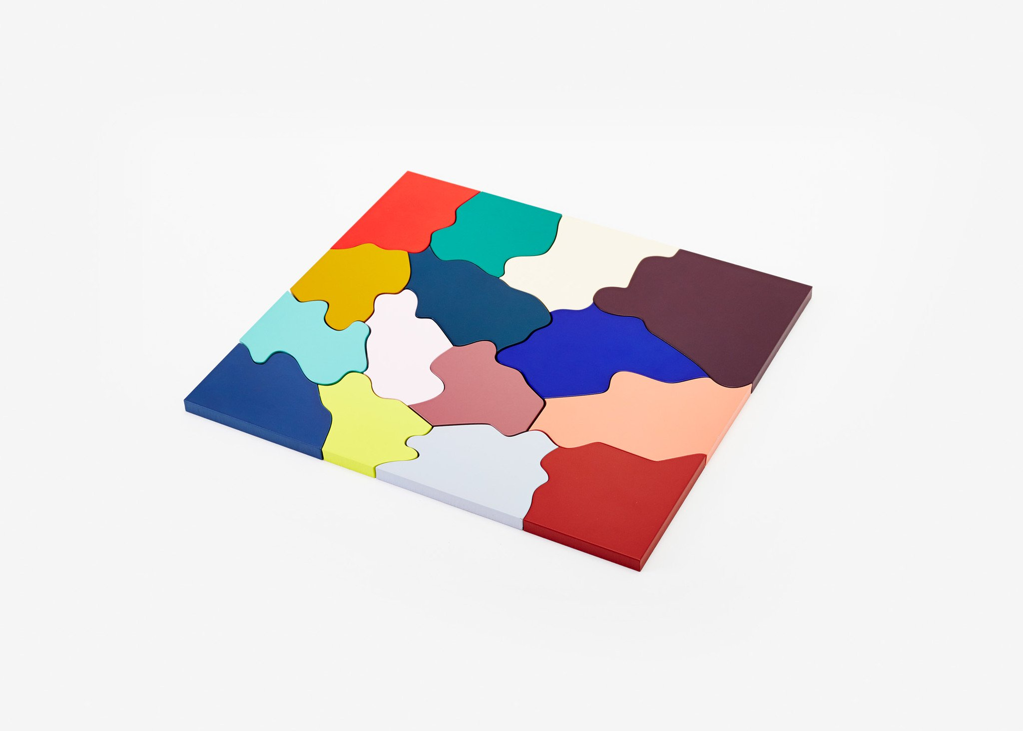 Color Puzzle Wooden Jigsaw Puzzle