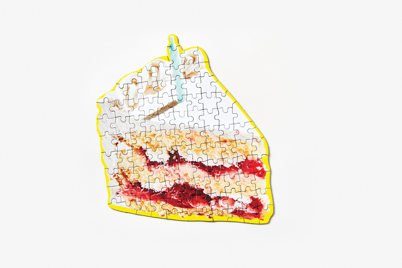 Little Puzzle Thing: Birthday Cake Sweets Jigsaw Puzzle