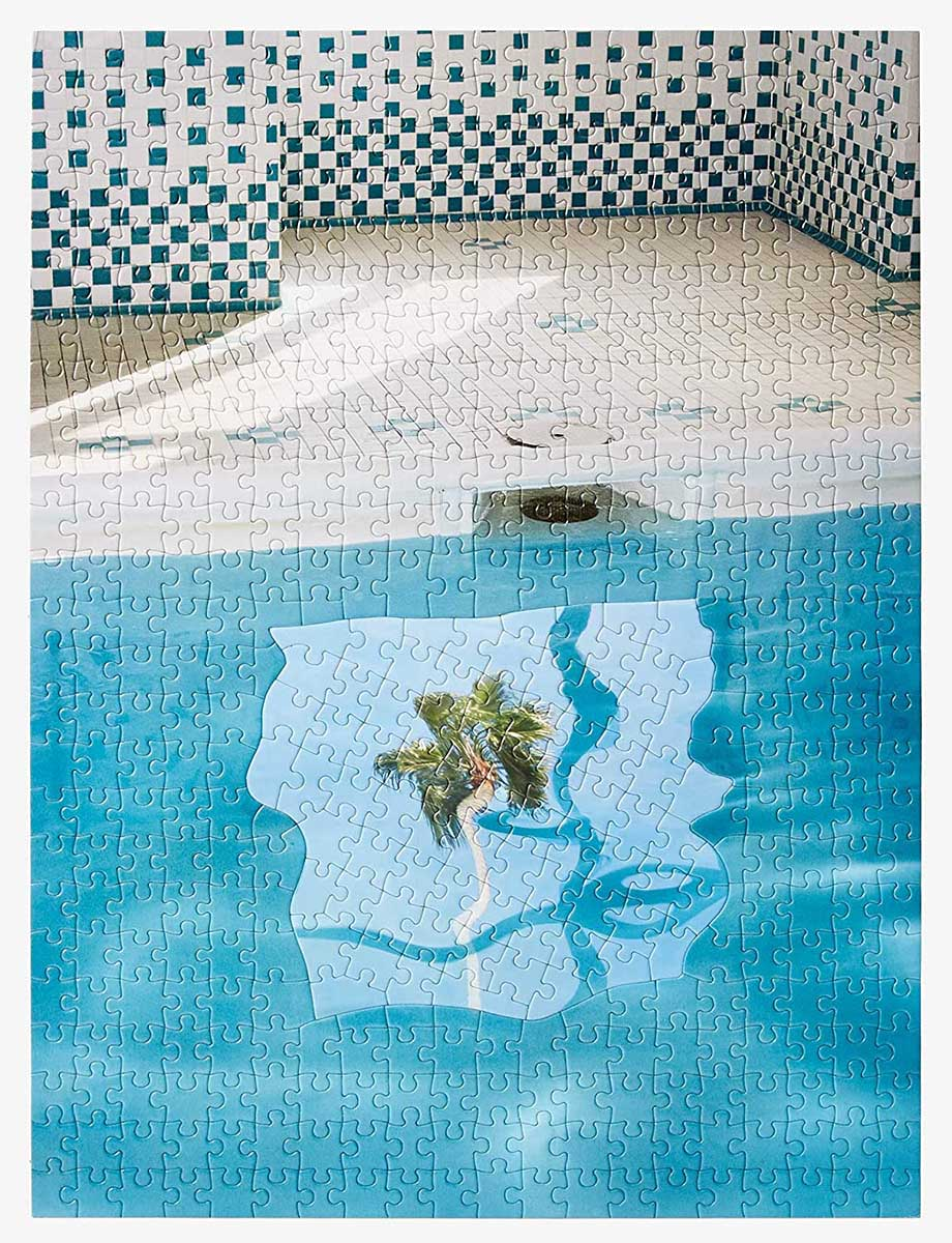 Puzzle In Puzzle: Pool Abstract Jigsaw Puzzle